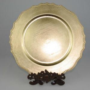 Dekoratiivne taldrik (kuld)