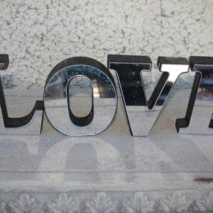 """Tähed """"LOVE"""" (väike)"""
